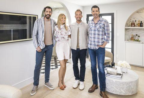 gwyneth paltrow on hgtv's celebrity iou with drew and jonathan scott