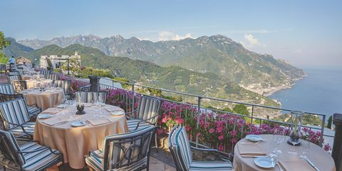 Restaurant, Property, Tourism, Vacation, Resort, Mountain, Real estate, Hill station, Sea, Building,