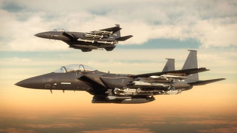 Boeing's Newest F-15 Packs More Than Two Dozen Missiles