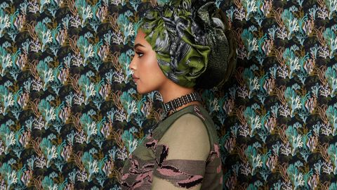 Hair, Green, Beauty, Pattern, Leaf, Photo shoot, Design, Photography, Tree, Adaptation,
