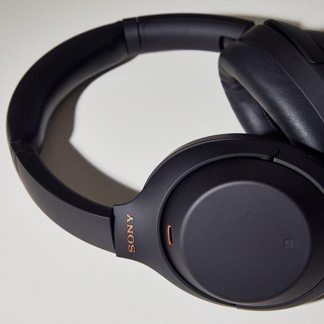sony wh 1000xm4 wireless noise canceling overhead black headphones 2020