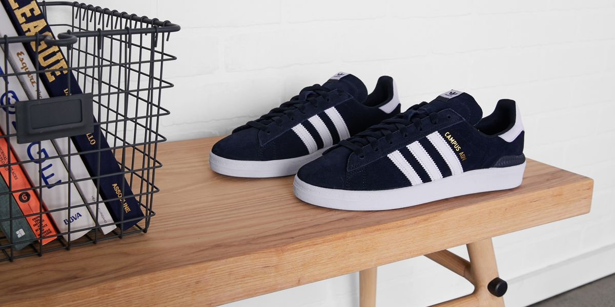 meet 5609b f0975 The Adidas Campus ADV Is a Modern Riff on a Classic Sneaker