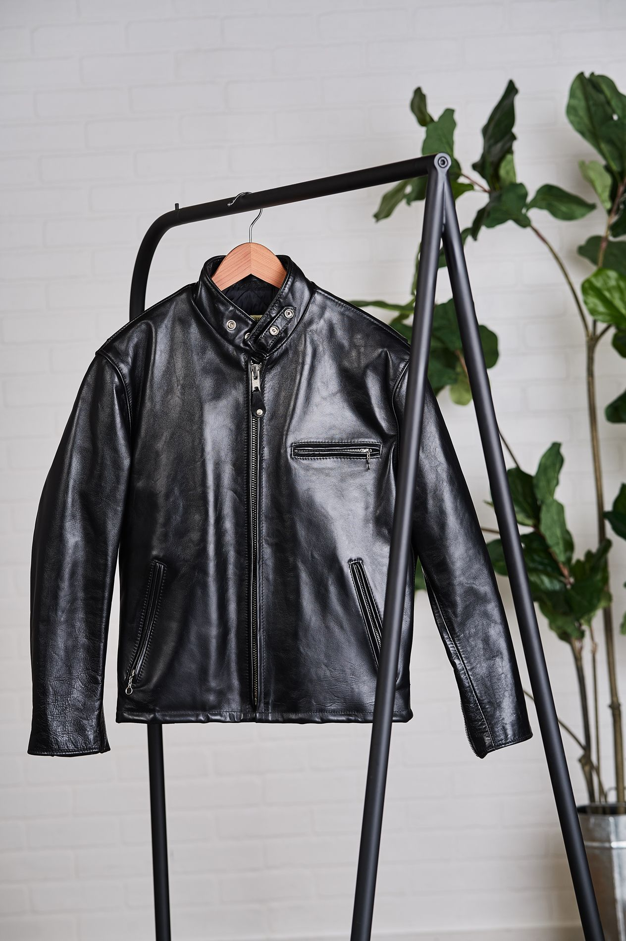 The Classic Leather Jacket You Can Work Into Any Wardrobe