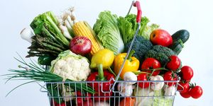 fruit, veg, food shopping