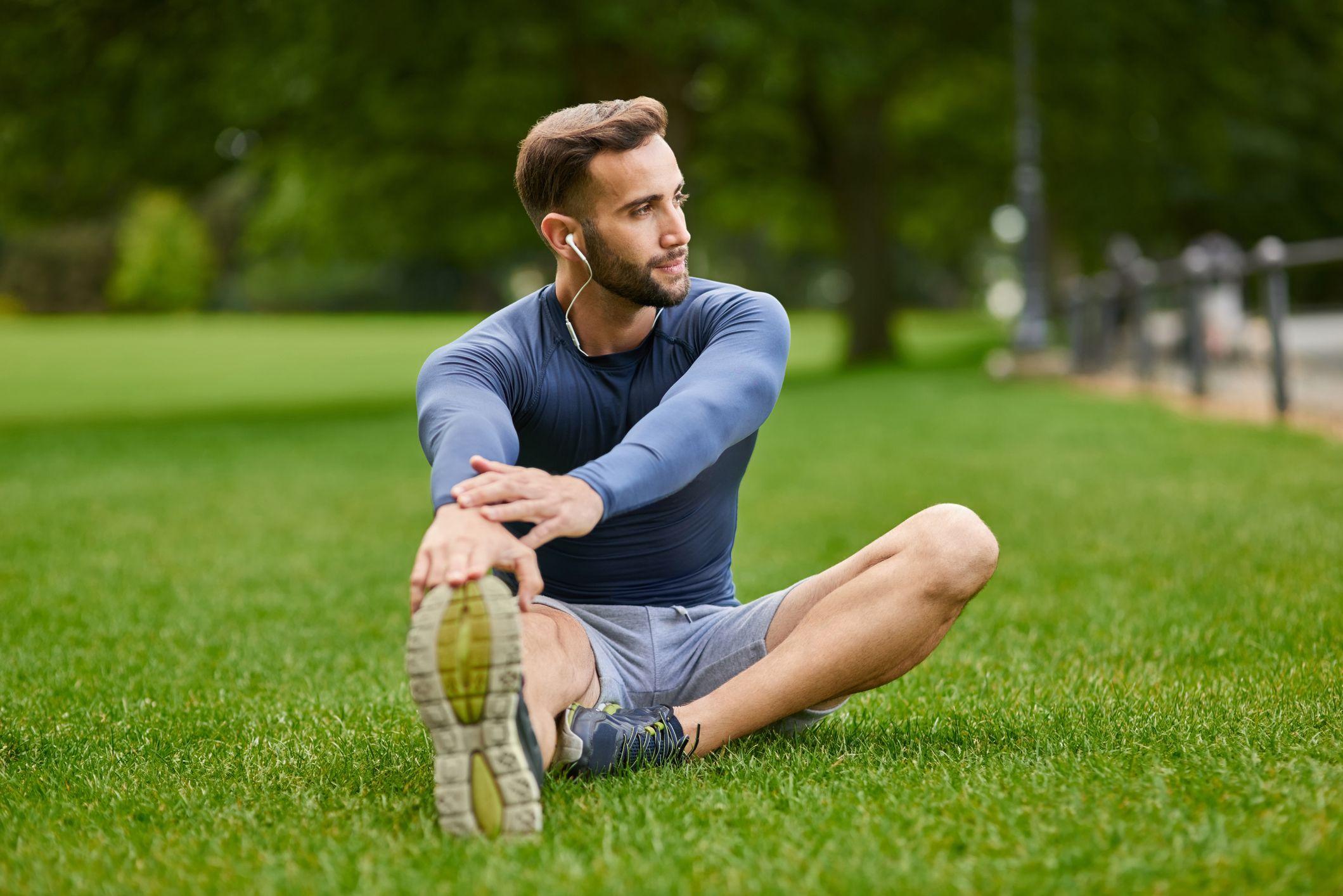 músculos isquiotibiales estirar