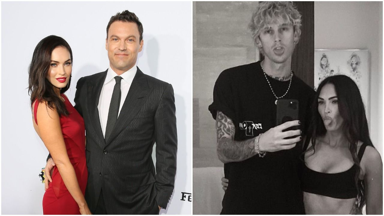 "Brian Austin Green ""Doesn't Care"" That Megan Fox and Machine Gun Kelly Are ""Flaunting"" Their 'Ship"