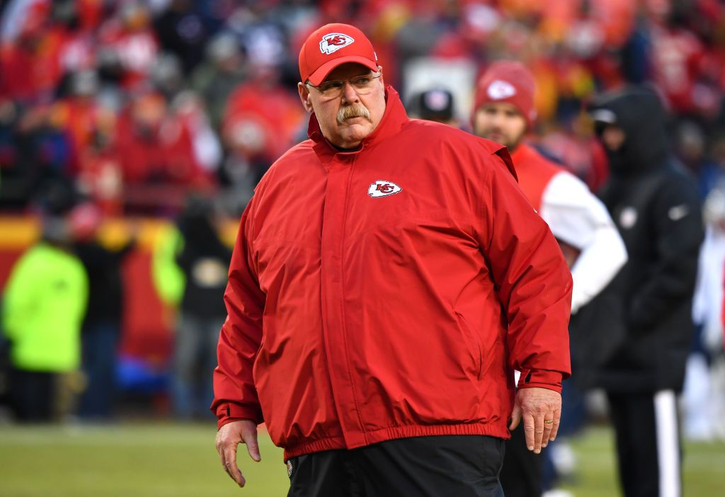 Image result for andy reid fat