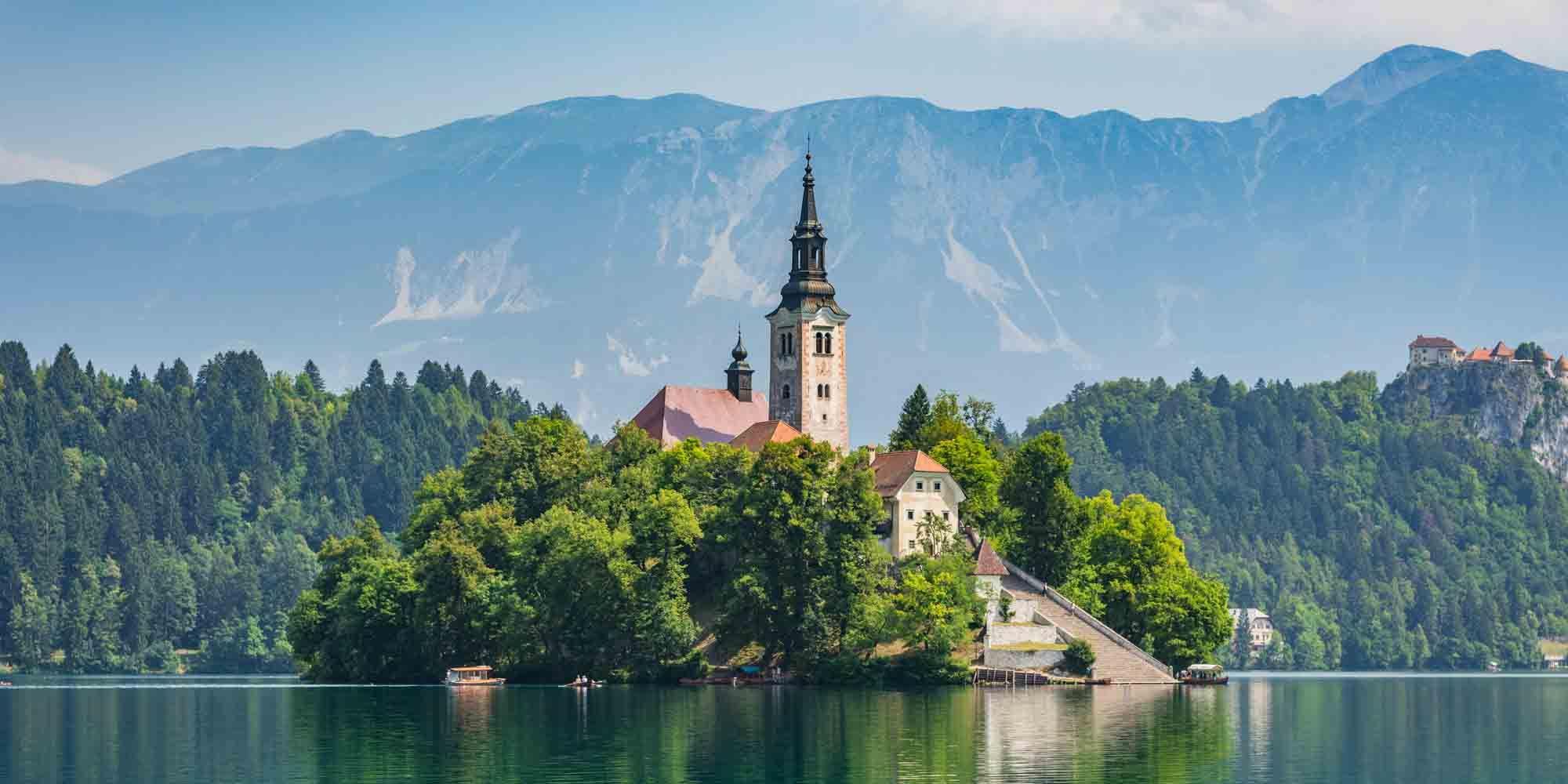 Bled, Slovenie, vakantie, bestemming