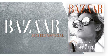 Harper's Bazaar oktobernummer juwelenspecial