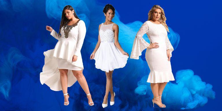 12 Hot White Prom Dresses for 2018 - All White Formal Dresses