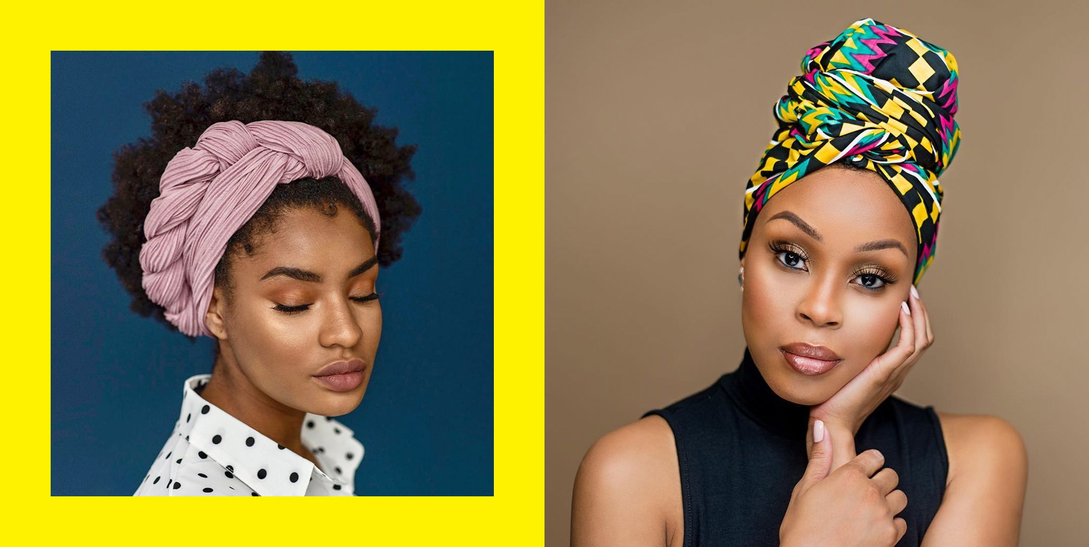 How To Tie A Headwrap 17 Headscarf Styles For Natural Hair 2021