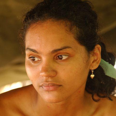 sandra diaz twine on 'survivor pearl islands'