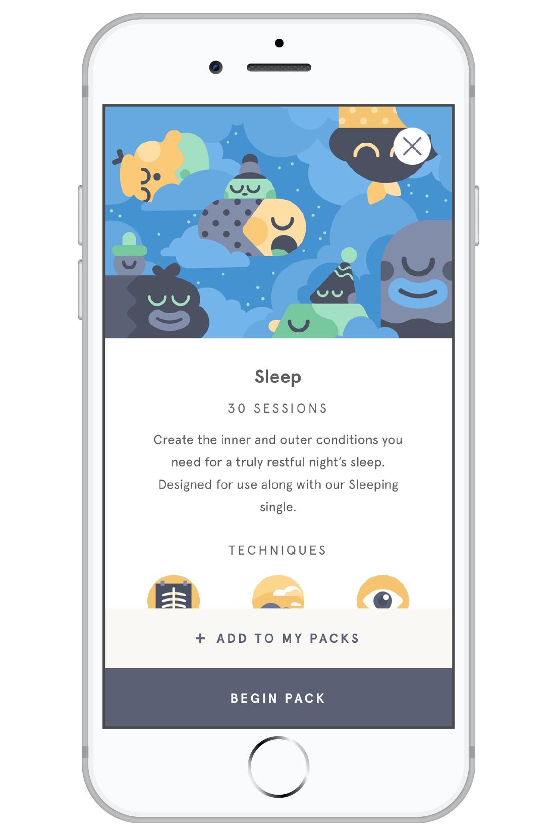 headspace sleep app