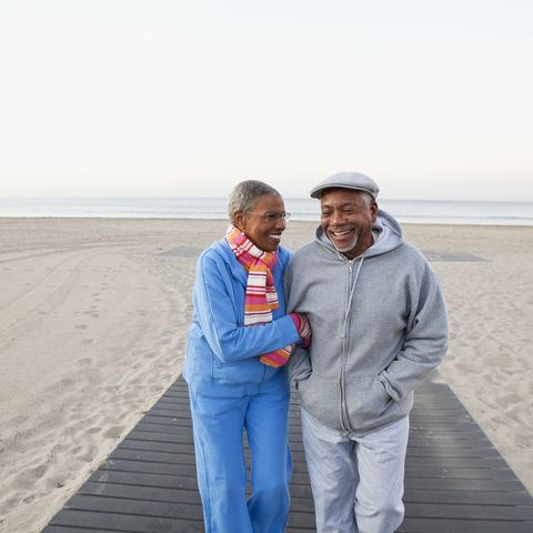 health benefits of beach couple