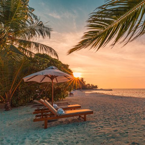 health benefits of beach sunset