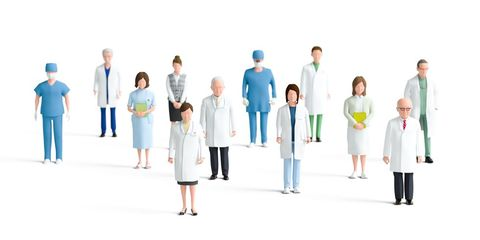 People, Social group, Uniform, Team, Job, White coat, Event, White-collar worker, Collaboration, Health care provider,