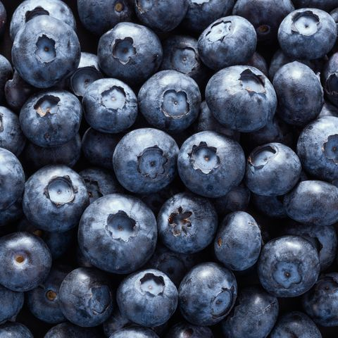 healthy food labels with no meaning blueberries