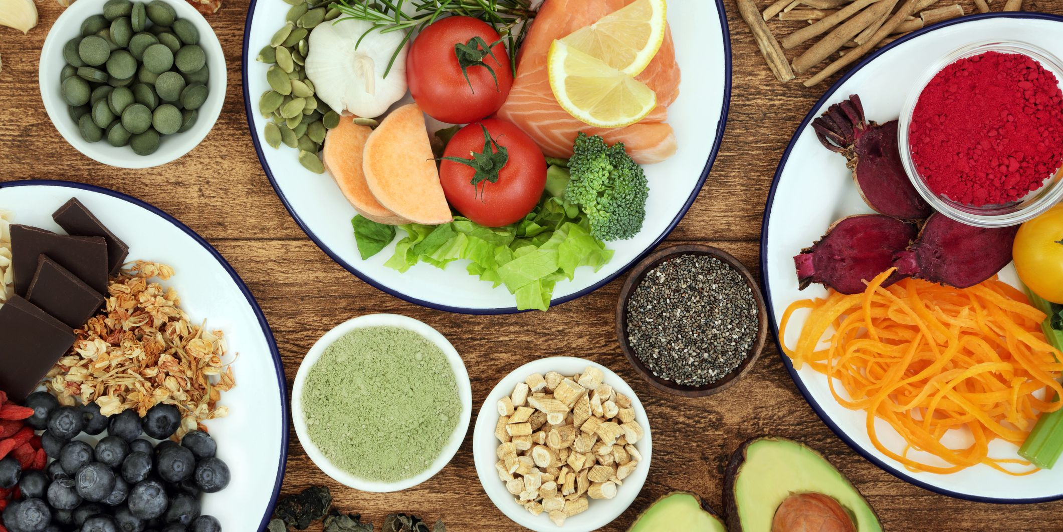 Health Food to Boost Brain Cognitive Functions