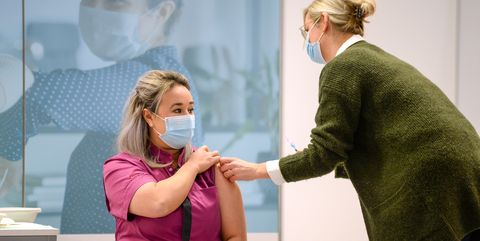 first covid 19 vaccination in the netherlands