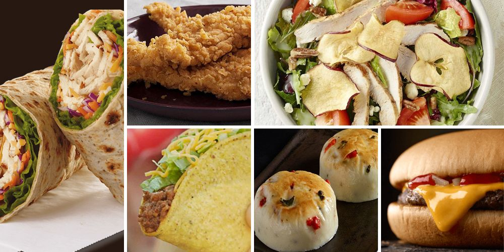 30 Healthy Fast Food Options - Best Choices to Eat Healthy at Fast Food  Restaurants