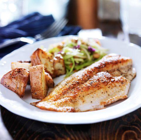 gesündester Fisch zum Essen von Tilapia