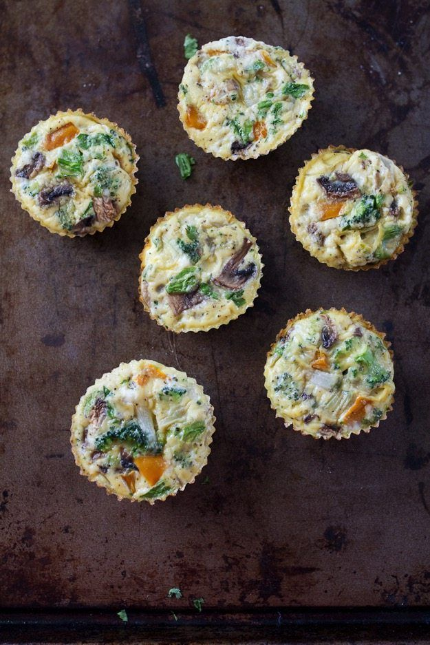 healthy baked egg muffins