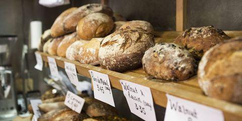 Bakery, Food, Dish, Cuisine, Baking, Bread, Sourdough, Ingredient, Baked goods, Produce,