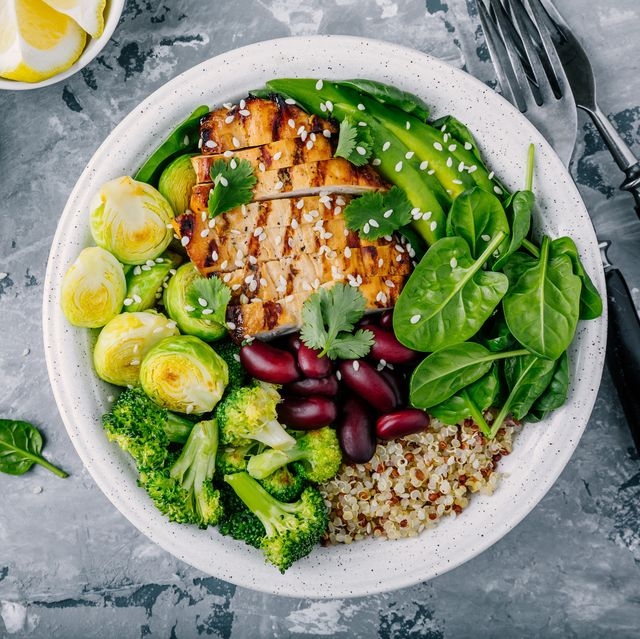 20 Low-Calorie, High-Protein Salads That Won't Leave You Hungry