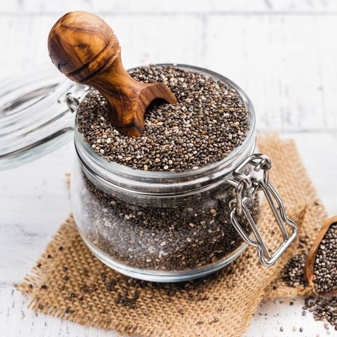 foods for constipation - chia seeds