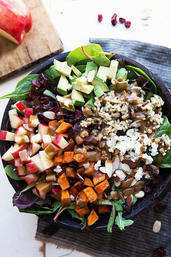 healthy christmas recipes salad
