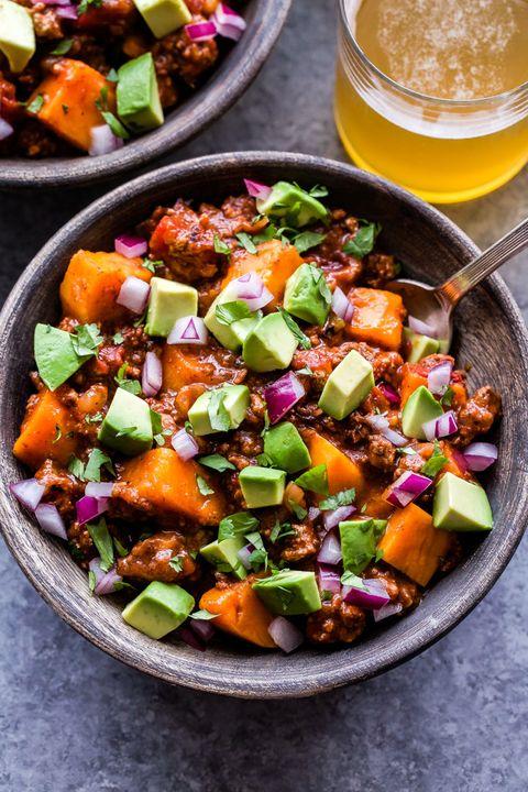 healthy crockpot recipes bison chili