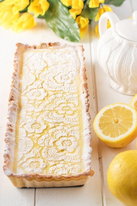healthy dessert ideas lemon tart