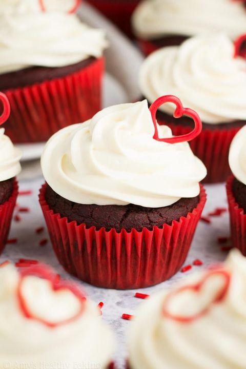 healthy dessert ideas red velvet cupcakes