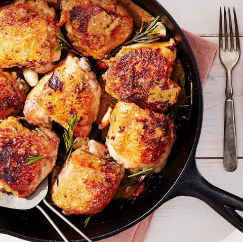 healthy dinner ideas garlic rosemary chicken