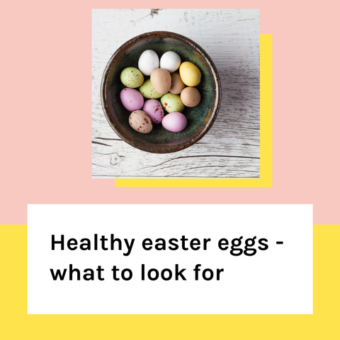 Healthy Easter Eggs