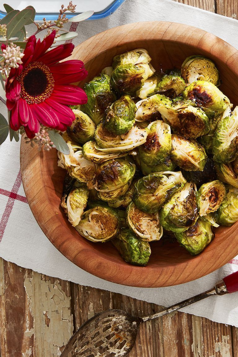healthy easter recipes brussels sprouts