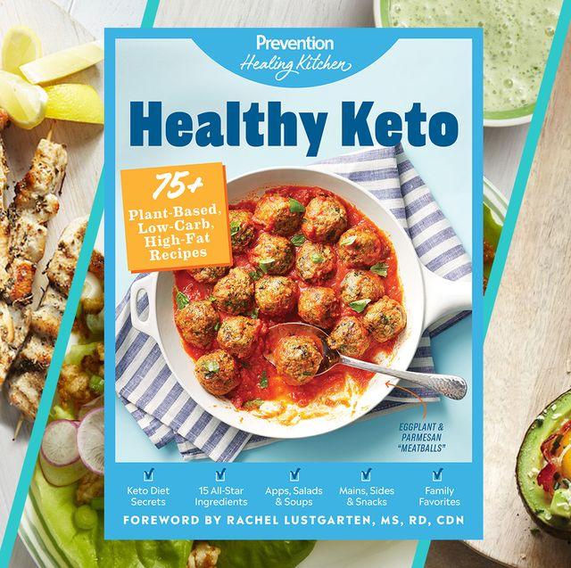 healthy keto cookbook