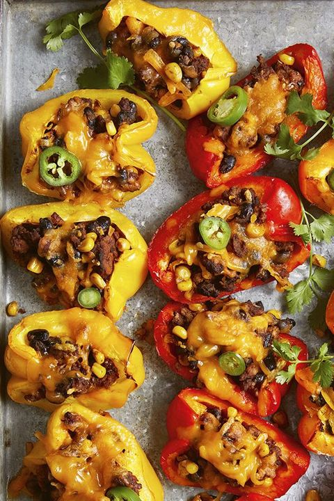 healthy lunch ideas bell pepper nachos