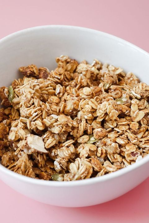 healthy lunch ideas cashew granola