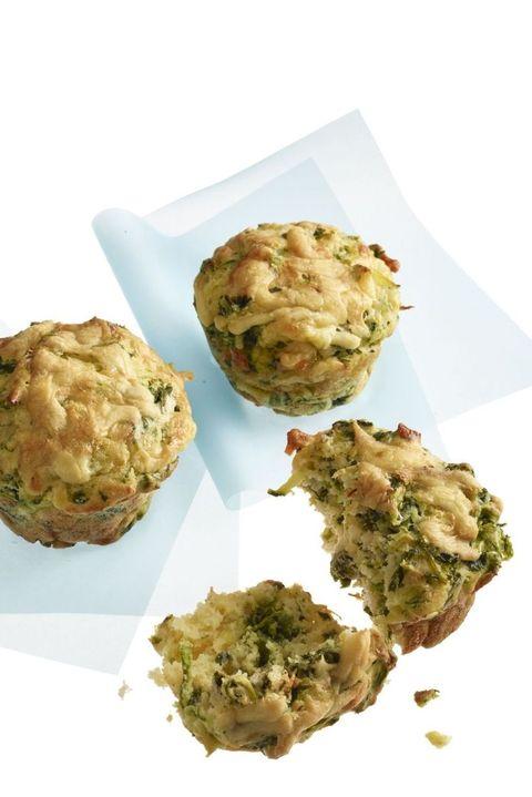 healthy muffins - zucchini muffins
