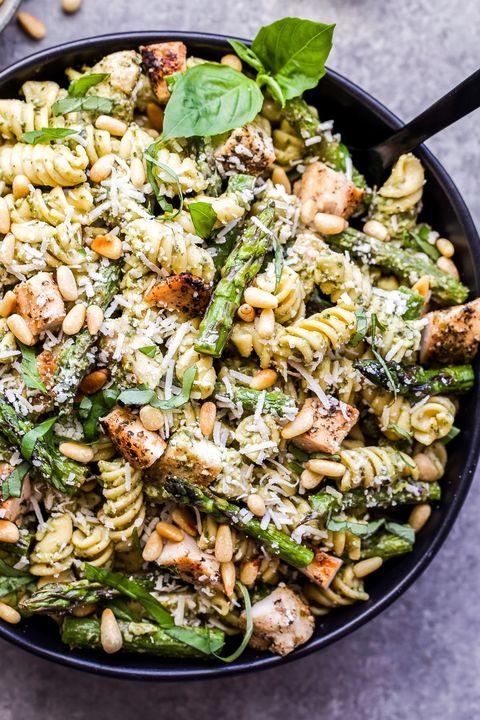 healthy pasta recipes pesto