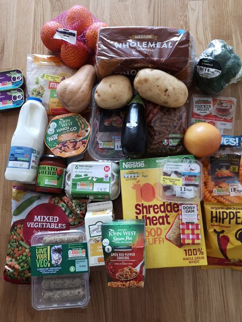 Healthy Sainsbury's Local Food