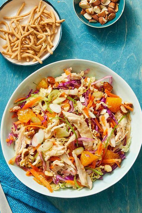 healthy salads crunchy turkey salad oranges