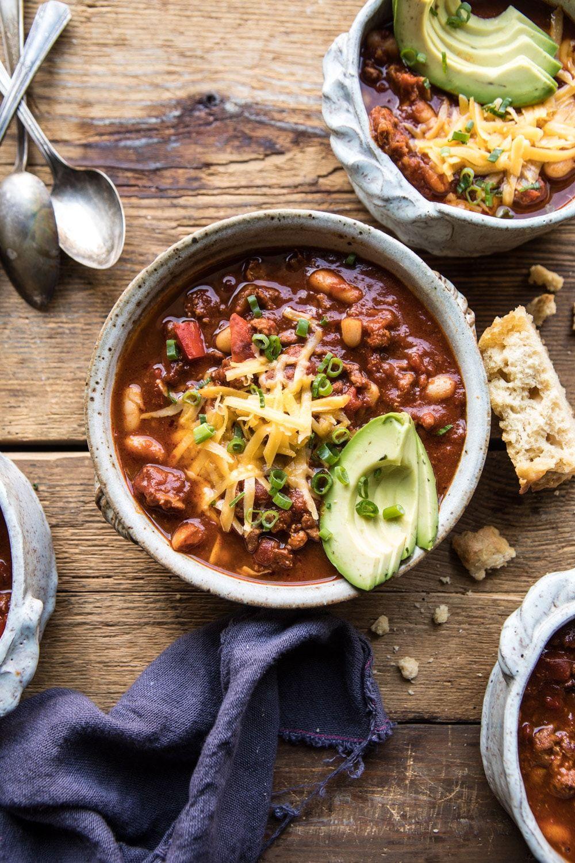 healthy super bowl food chili