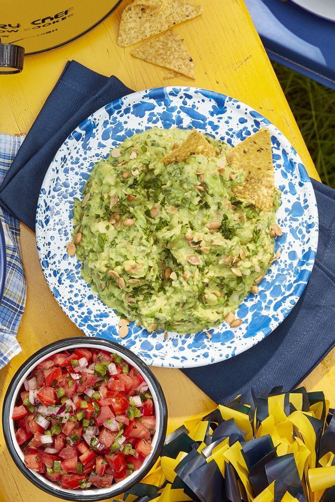 healthy super bowl food guacamole