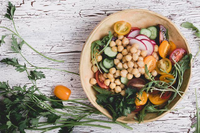 healthy vegan bowl plant based meal