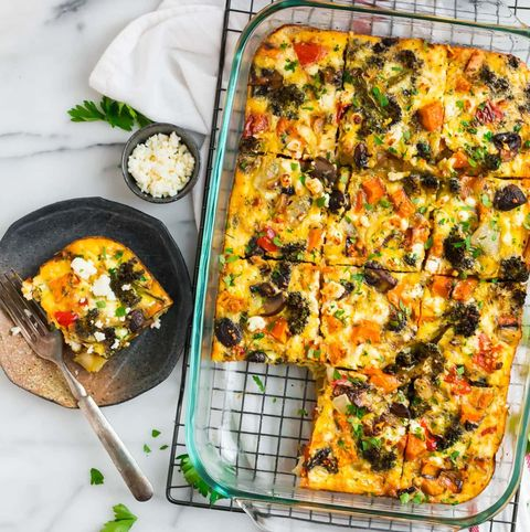 vegetarian breakfast casserole recipe