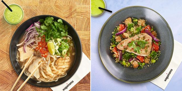 10 Of The Healthiest Things You Can Order At Wagamama