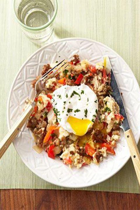 healthybreakfaststoloseweight-sausagescramble