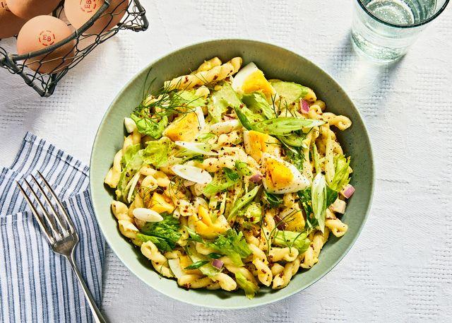deviled eggs pasta salad